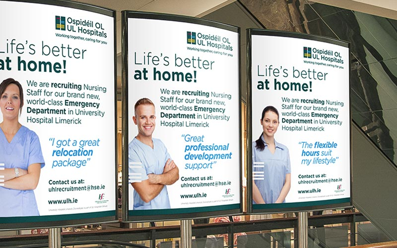 UL Hospitals Group | southern | marketing | design | media